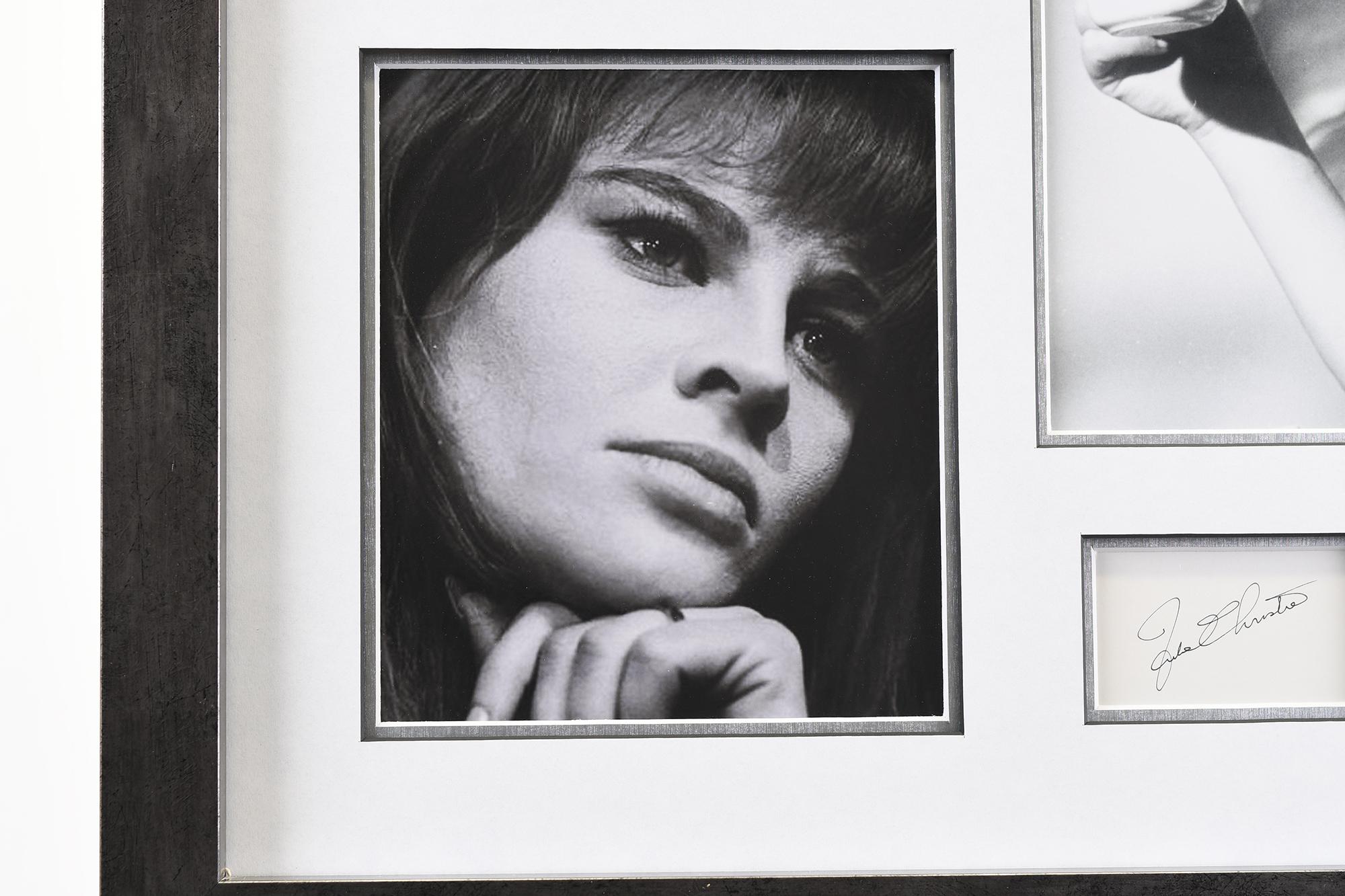 Julie Christie Memorabilia Framed Presentation - Image 7 of 7