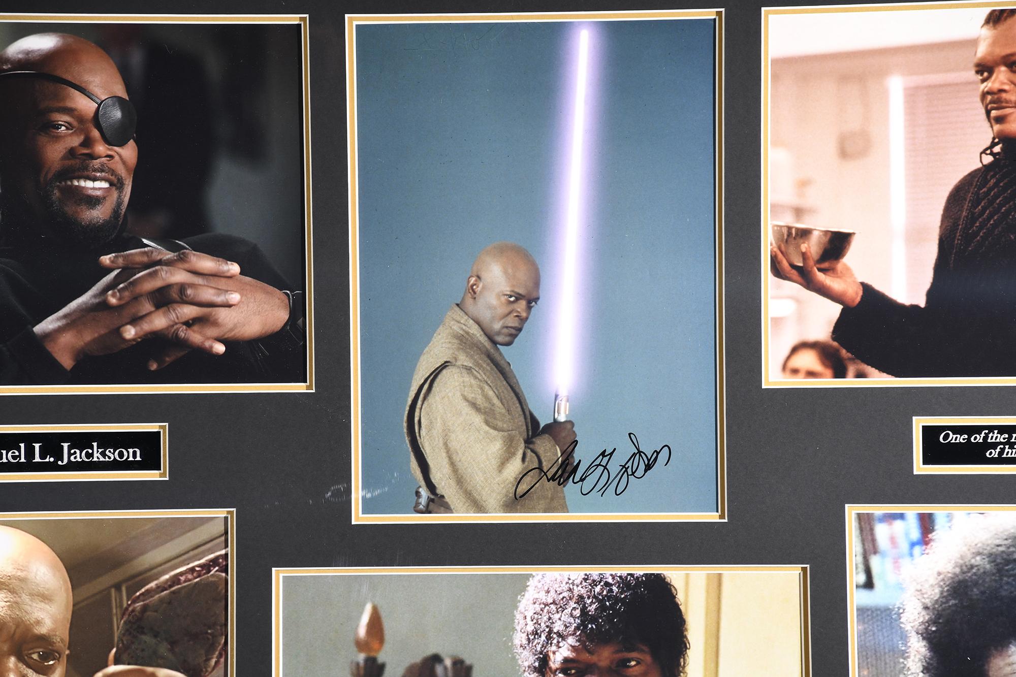 Samuel L Jackson Framed Signature Presentation - Image 2 of 4