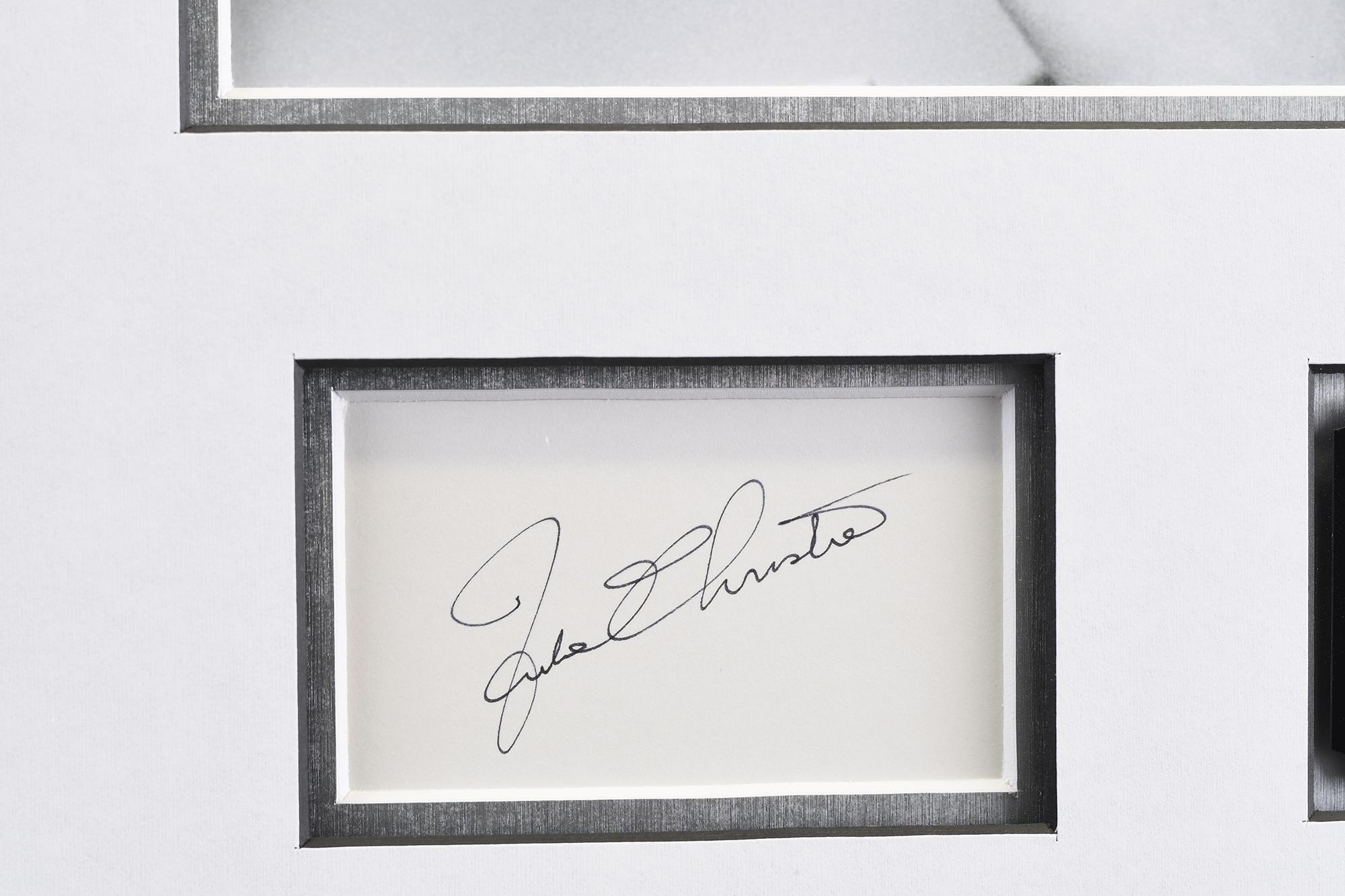Julie Christie Memorabilia Framed Presentation - Image 5 of 7