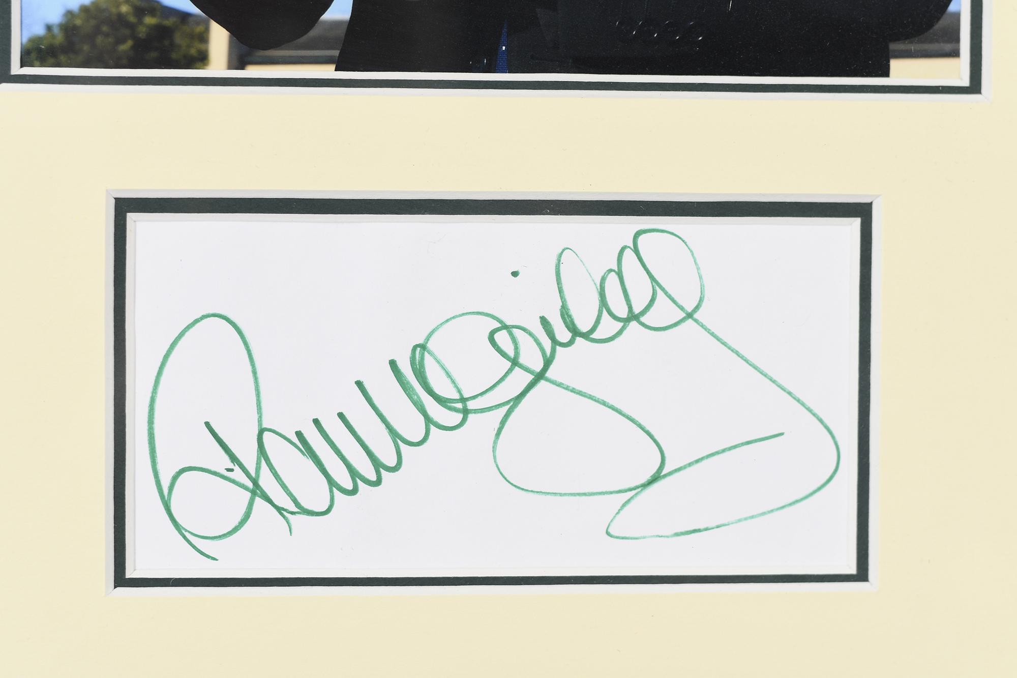 Paul Mcginley Framed Signature Presentation - Image 4 of 6