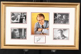 Adam Faith Framed Signature Presentation