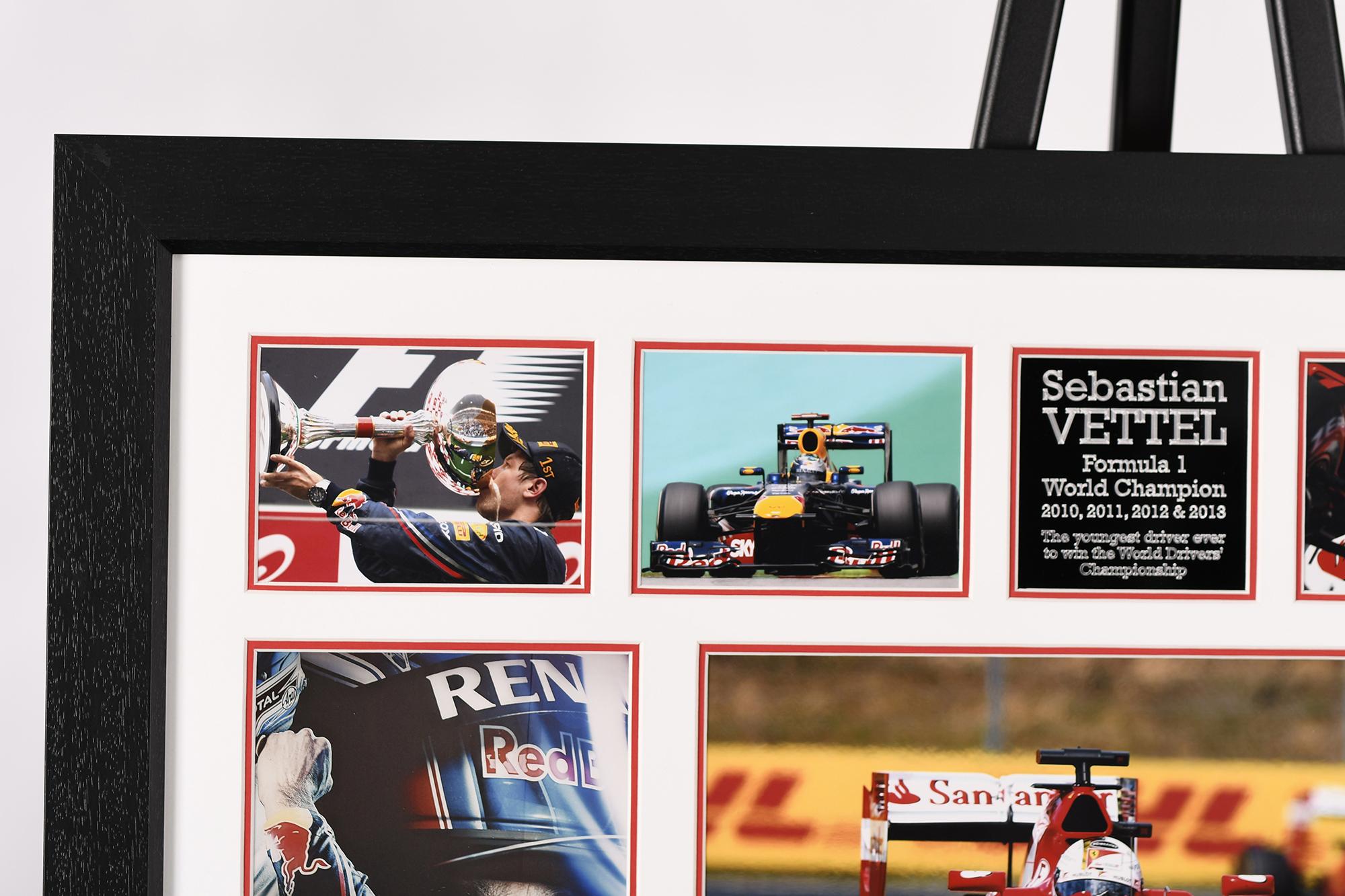 Sebastian Vettel Signed Presentation - Image 4 of 4