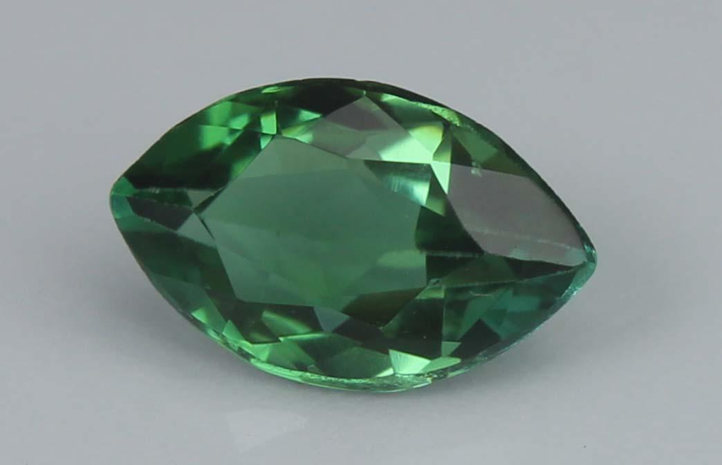 Green Cuprian-Tourmaline, 1.17 Ct