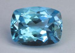 Blue topaz, 15.70 Ct