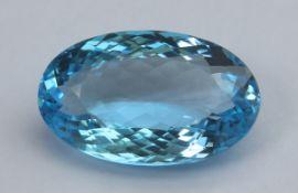 Blue Topaz, 19.25 Ct