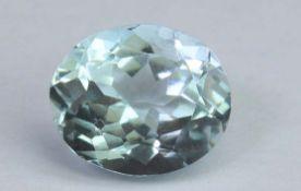 Aquamarine, 1.53 Ct