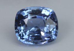 Blue Sapphire, 1.28 Ct