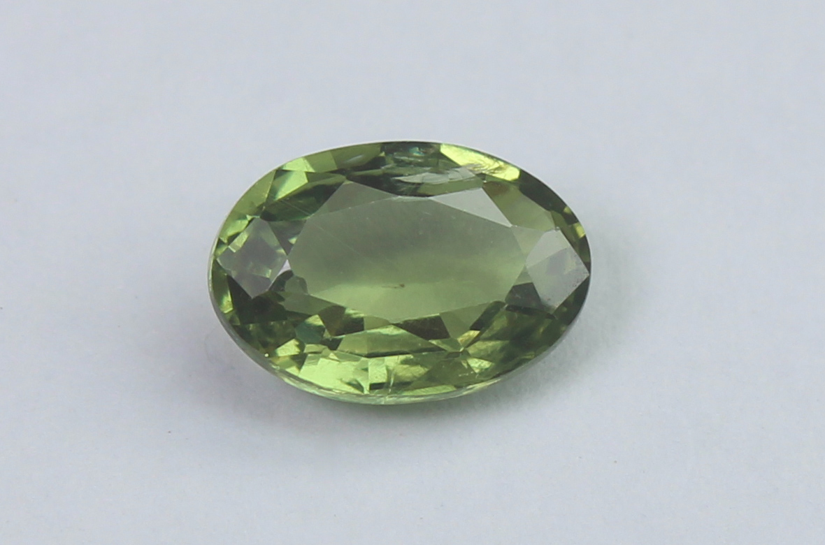 Green Sapphire, 1.08 Ct