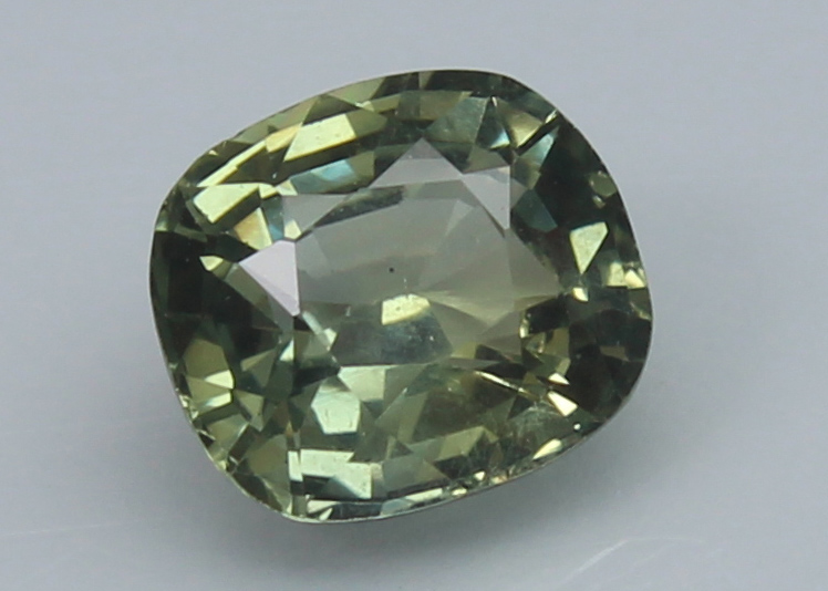 Green Sapphire, 1.08 Ct - unheated - Image 3 of 5