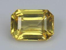 Yellow Sapphire, 1.03 Ct