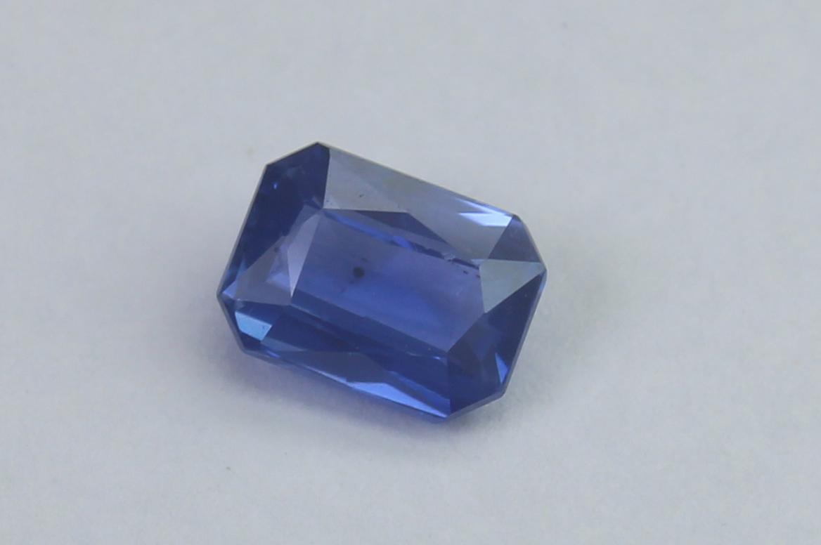 Blue Sapphire, 0.73 Ct