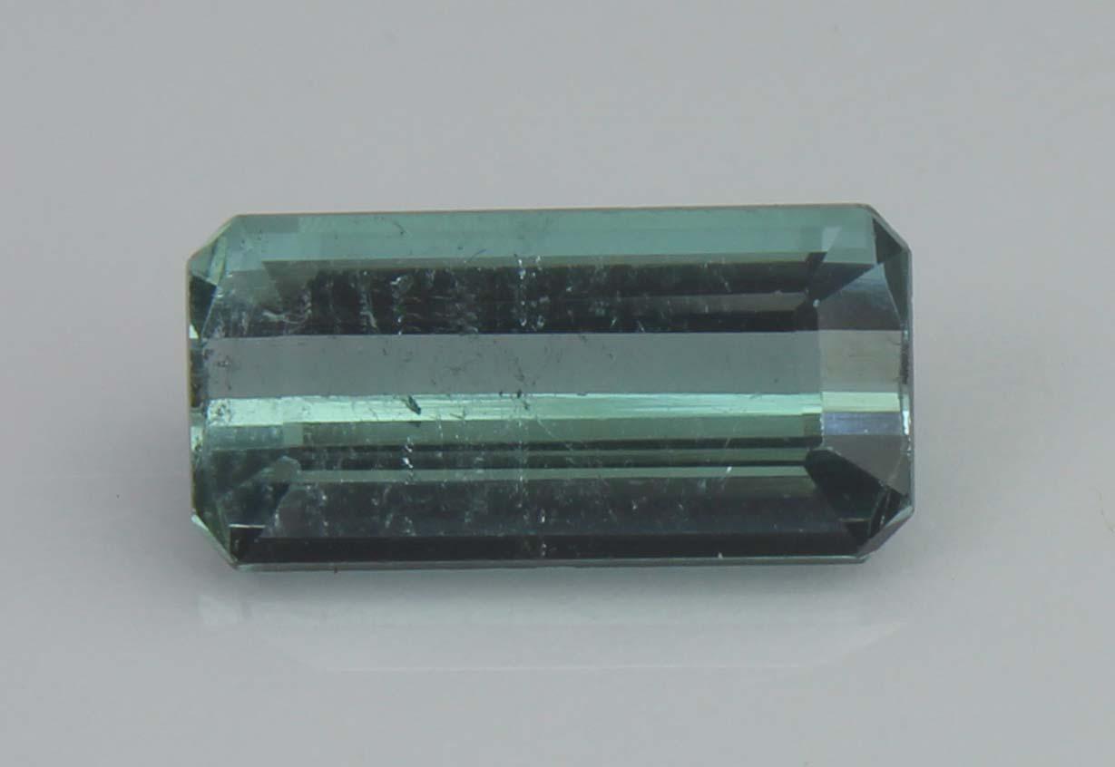 Greenish Blue Tourmaline, 1.90 Ct