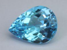 Blue Topaz, 18.28 Ct