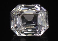 White Sapphire, 1.32 Ct