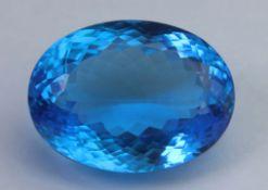 Blue Topaz, 23.57 Ct