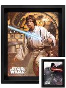 Star Wars Vader Vs Skywalker 3D Lenticular Poster