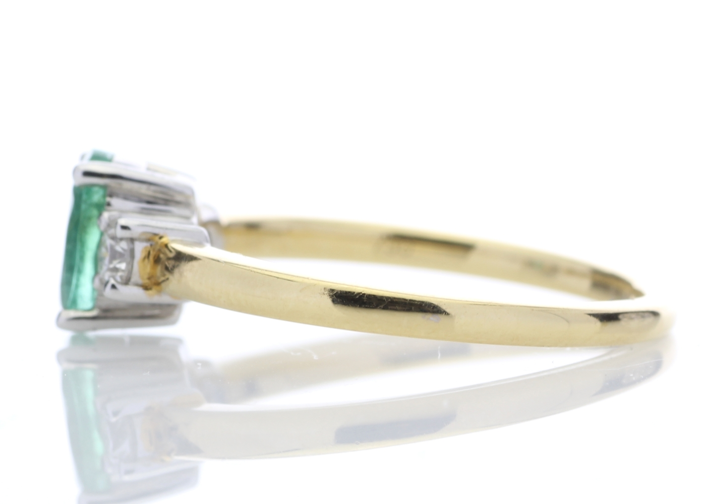 18ct Yellow Gold Diamond Ring 0.20 Carats - Image 3 of 5