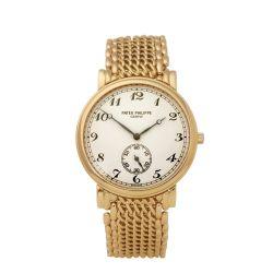 Patek Philippe Calatrava 5502/1 Men Yellow Gold Watch