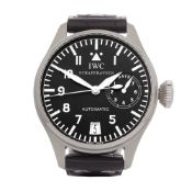 IWC Big Pilot's IW500201 Men Stainless Steel 7 Day Watch