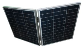 1 x 50w poly folding solar panel (zzxest50)