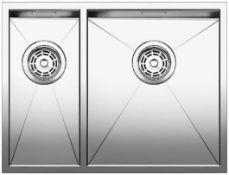 Blanco Zerox 340/180-U Stainless Steel Kitchen Sink Right Hand Main Bowl BL467712 RRP £520