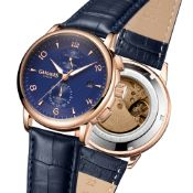Limited Edition Hand Assembled Gamages Mystique Automatic Blue – 5 Year Warranty & Free Delivery