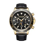 Ltd Edition Hand Assembled Gamages Rotating Moon Phase Automatic Gold – 5Yr Warranty & Free Delivery