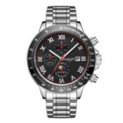 Limited Edition Hand Assembled Gamages Race Calendar Automatic Steel – 5Yr Warranty & Free Delivery