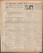 3 Original War Of Independence 1920 Newspapers Each With News Reports-3