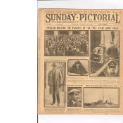 The Whole Of Ireland Mourns The Death Of Michael Collins Original Newspaper