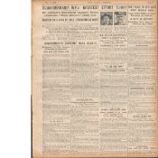 2 Original War Of Independence 1920 Newspapers Each With News Reports-8