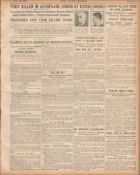 3 Original War Of Independence 1920 Newspapers Each With News Reports-1