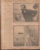 Original Newspaper James Larkin The 1913 Dublin Lock-Out Riots