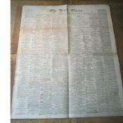 Irish Times Newspaper 1867 Lots Of Fenian & Rebellion Content