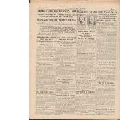 Sinn Fein Irish Peace Talks 1921: Michael Collins At Downing St Meeting Original