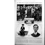 The Execution Of Erskine Childers Original 1922 Original Print