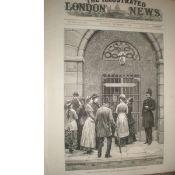 Kilmainham Jail Dublin Ireland 1881 Antique print