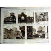 Attack on the Four Courts the Battle of Dublin Double-Page