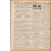 Lord Mayor Of Cork To Lie In State Original 1920 Newspaper