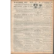 3 Original War Of Independence 1920 Newspapers Each With News Reports-7
