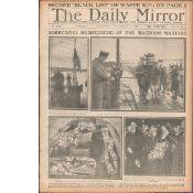 Flying Columns Around Cork Incidents 1920 War Of Independence Newspaper