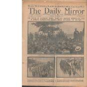 The Battle Of Bachelors Walk Massacre Dublin 1914 Original Newspaper
