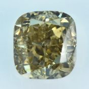 IGI Certified Si2 1.27Cts 100%Natural Y-Z Colour Diamond
