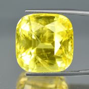 Grs Certified 51.13Cts 100% Natural Yellow Colour Ceylon Sapphire