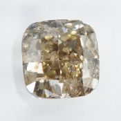 IGI Certified 1.37Cts Natural X-Y Colour Diamond For Jewellery