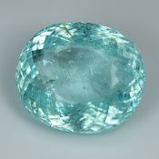 GIA Certified Huge Paraiba 18.35Cts 100% Natural Greenish Blue Colour Paraiba Tourmaline