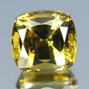 GIA Certified 2.42Cts 100% Natural Alexandrite Yellow Green Changing To Brownish Yellow Colour