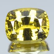 GIA Certified 4.24 CTS 100% Natural Alexandrite Brown Green Changing To Brown Yellow Colour