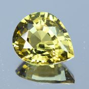 GIA Certified 2.12Cts 100% Natural Alexandrite Brownish Green Changing To Brownish Yellow Colour