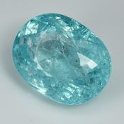 GIA Certified Beautiful Colour Paraiba 16.61Cts 100% Natural Blue Colour Paraiba Tourmaline